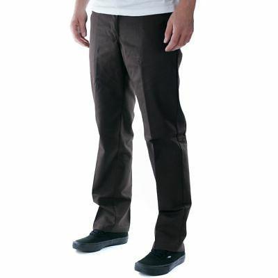 Dickies 894 Industrial Work Pants Chocolate Brown All Colour