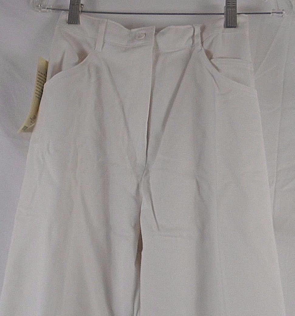 Barco Back Jean Scrub 22239 White Size 04