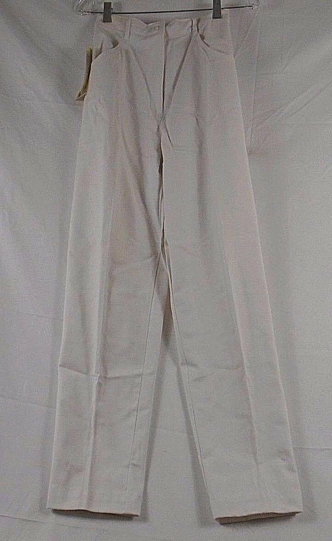 Barco Flat Front Elastic Back Jean Scrub Pants 22239 SP 98 W