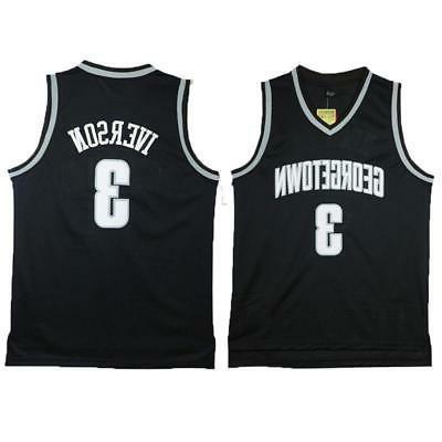 allen iverson college jersey 3 georgetown university