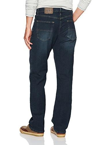 Wrangler Men's Classic Relaxed Fit Jean, Blue