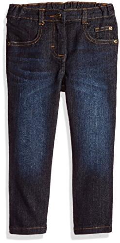Wrangler Authentics Toddler Boys' Skinny Jean, dark wash,