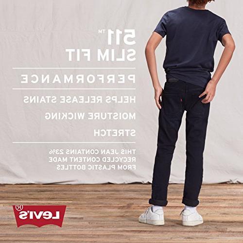 Levi's Boys' Slim Fit Performance Evans 14