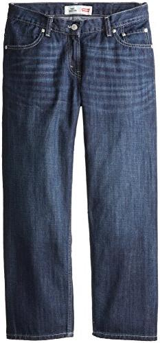 Levi's Big Boys' 550 Relaxed-Fit Jean, Hawthorne, 18 Husky
