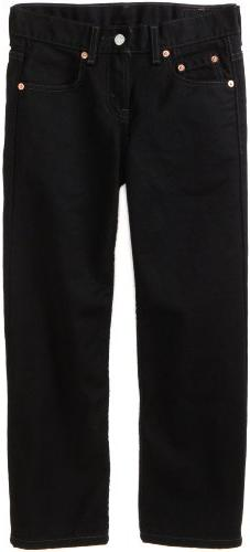 Levi's Big Boys' 550 Relaxed Fit Jeans, Black Magic, 18 Slim