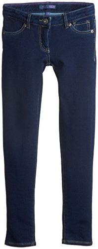 Levi's Big Girls' 710 Knit Super Skinny Jean, New Rinse, 16