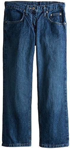 Lee Big Boys' Husky Premium Select Relaxed Straight Leg Jean