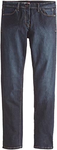 New Men Izod Relaxed Fit Straight Leg Dark Tint Blue Jeans W