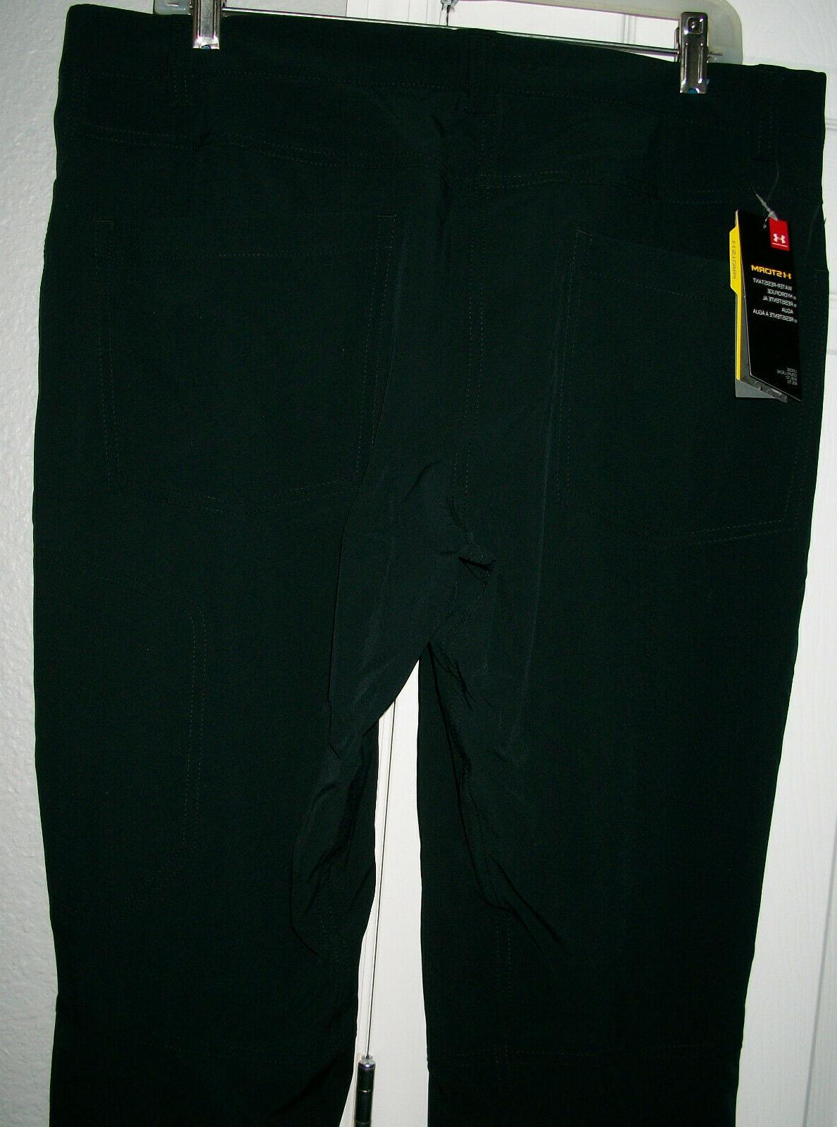 UNDER ARMOUR Loose Fit Water Resistant Pants/Jeans