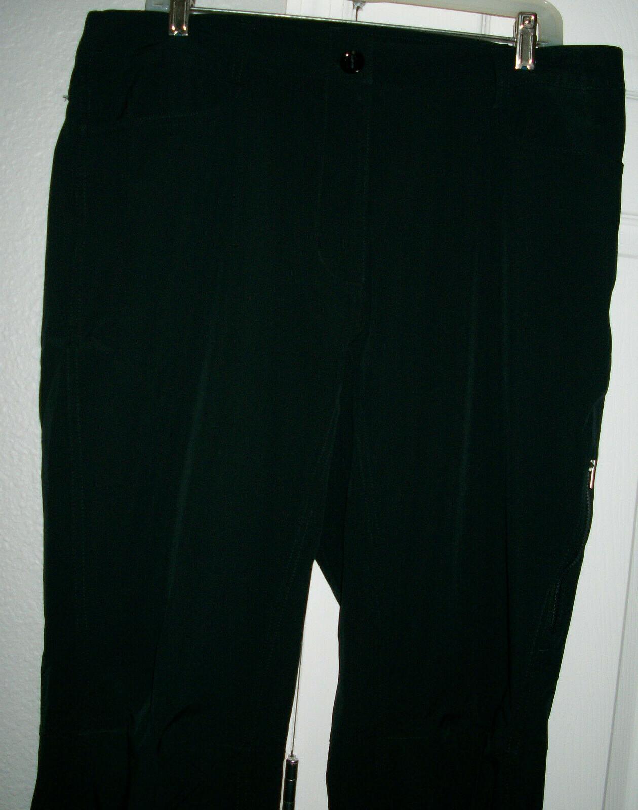UNDER Black Fit Water Resistant Storm Pants/Jeans