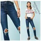 BNWT Anthropologie Levi's 721 Distressed High-Rise Skinny Je