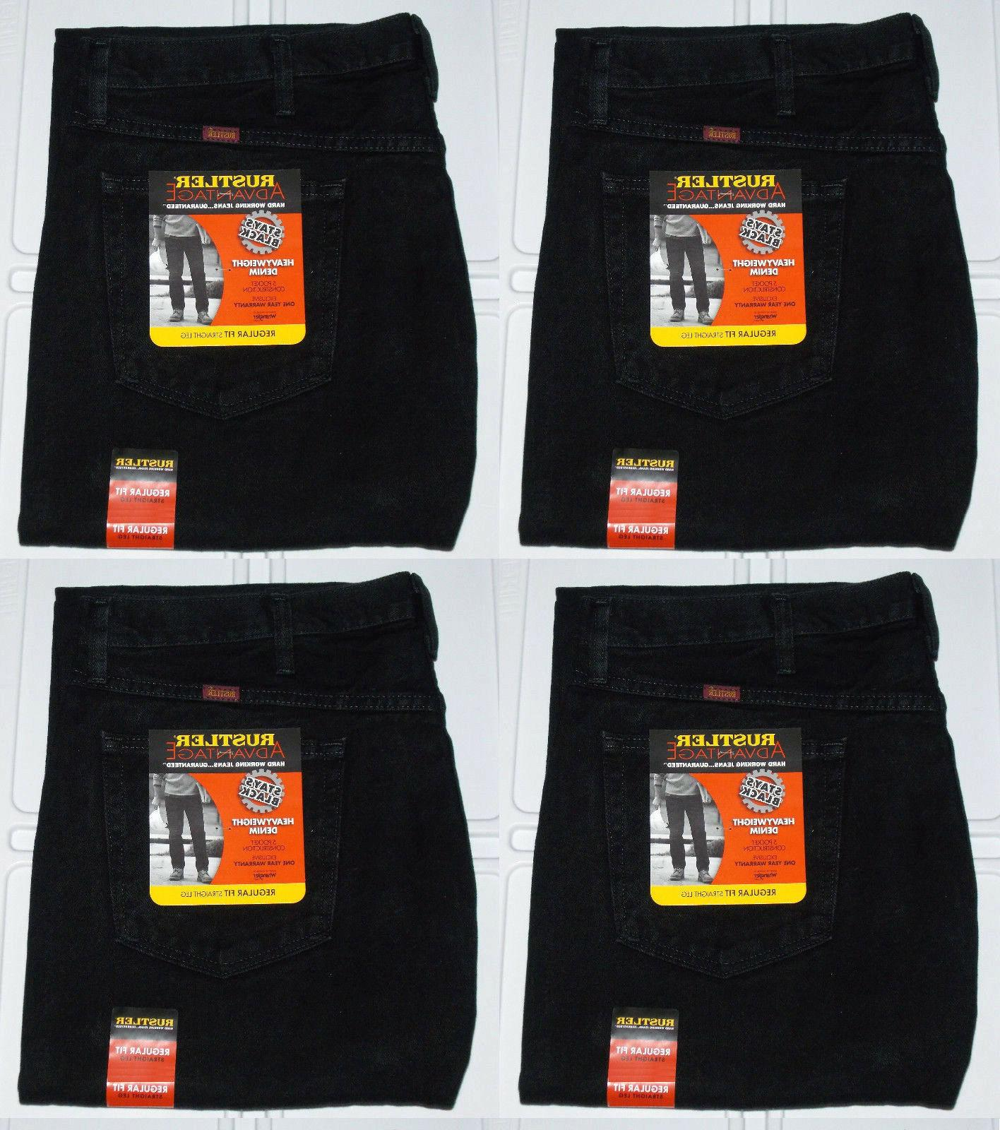 Rustler By Big & Regular Fit Denim Jeans