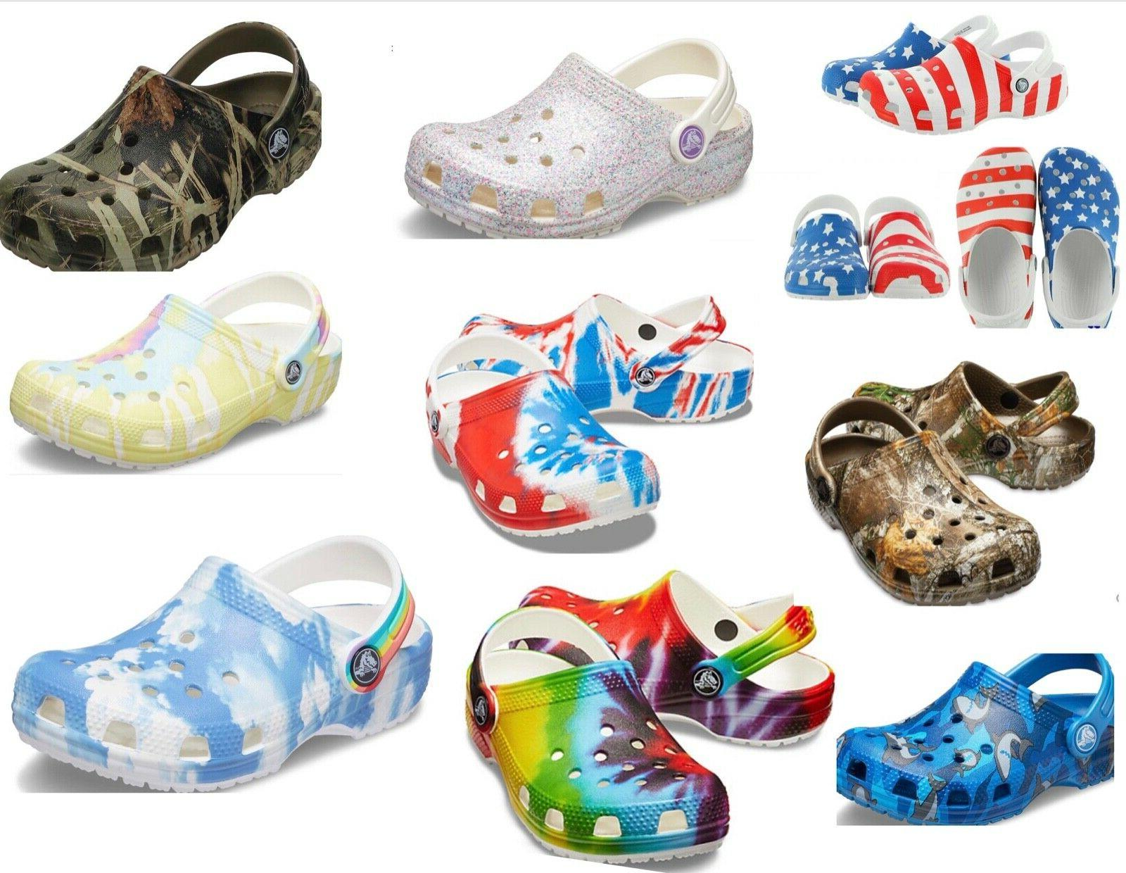 childrens kids infants classic clogs sandals limited