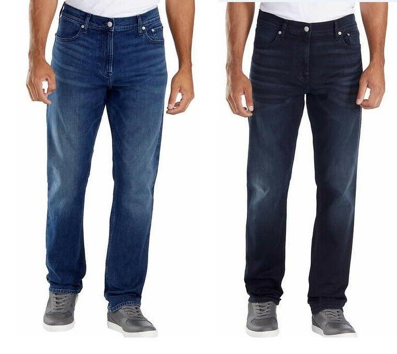 ck mens straight fit jeans blue
