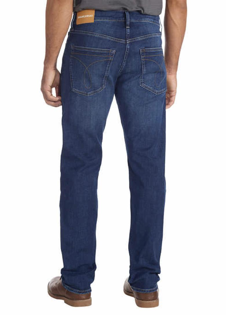Calvin Klein Straight Fit Jeans & Size -