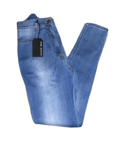 Fashion Nova Classic Waist Stretchy Skinny - Blue Size