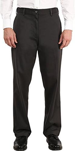 Dockers Men's Men's Comfort Khaki Stretch Relaxed Fit Flat F