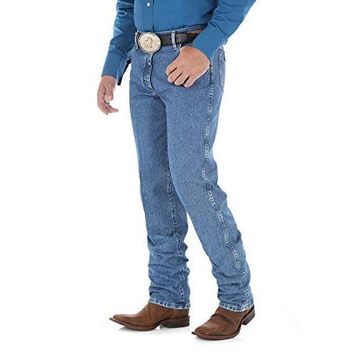 Wrangler Premium Performance Cowboy Cut Regular Jean, 36W x 32L