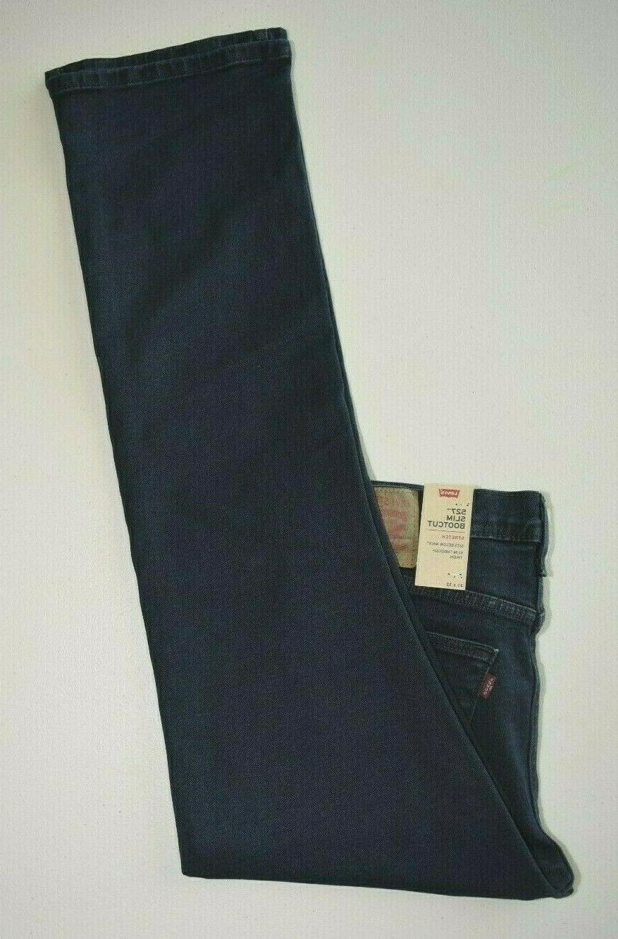 Dark Blue Men's Jeans: