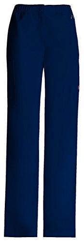 Dickies Men's Elastic Waist Zip Fly Pull-On Pant_D-Navy_Medi