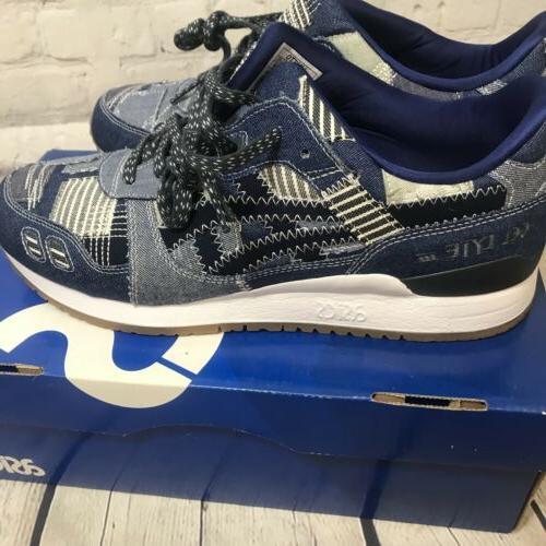 Asics Lyte III Size Denim Blue Shoes H7D3N Jeans