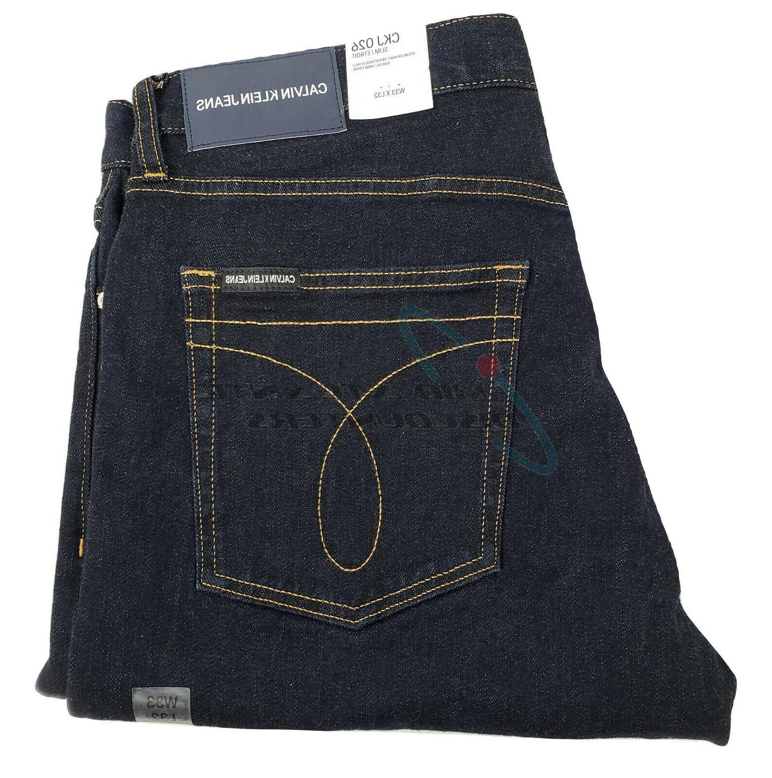 Calvin Jeans Slim Modern Denim 33x32