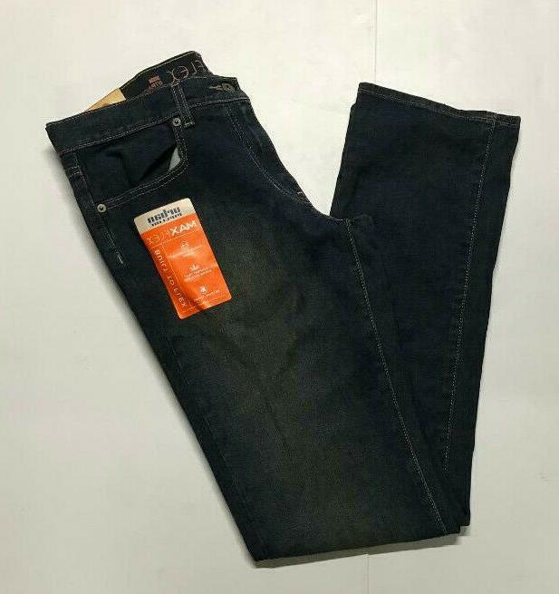 jeans max flex stretch straight fit