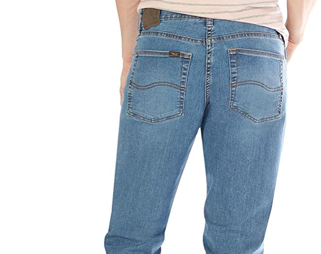 LEE Jeans Stretch Classic Fit Straight Leg Rascal Wash