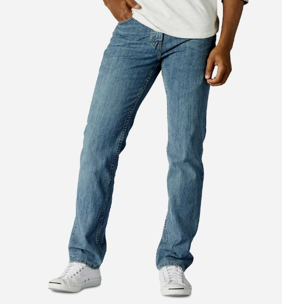 URBAN Regular Fit Blue Leg 100% Cotton Vintage