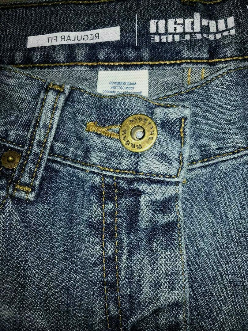 URBAN PIPELINE Fit Blue Straight 100% Cotton