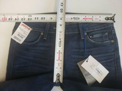 Paige Jeans Size 27 Women's Kylie Crop with Roll Up Andrea N