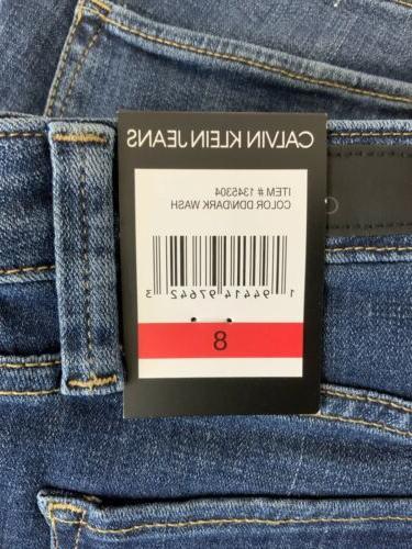 Calvin Klein Women's Contour Jean Dark Wash Blue Sizes