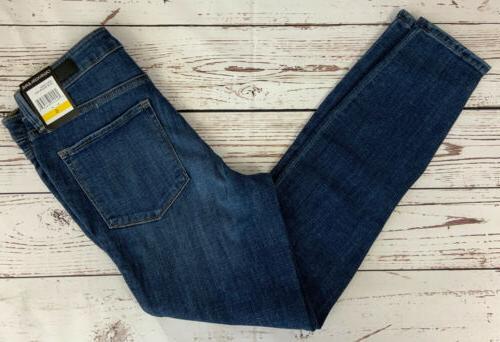 Calvin Jeans Women's Contour Fit Jean Dark Wash Various Sizes