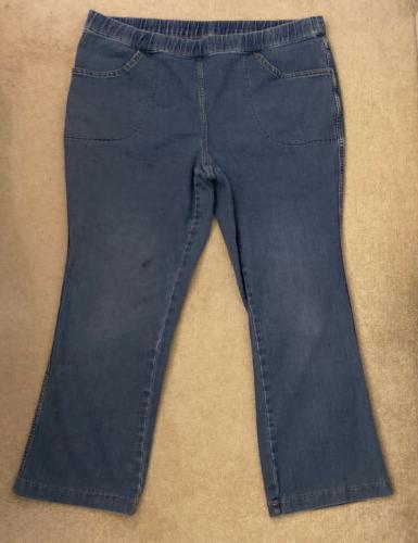 jms just my size capris blue jeans