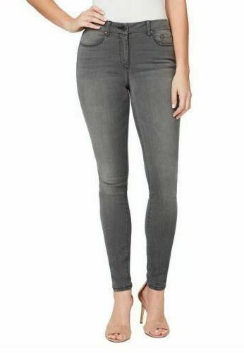 ladies high rise skinny jean ontario size