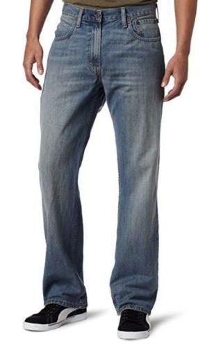Levi Men's Loose Straight Jean 40X32
