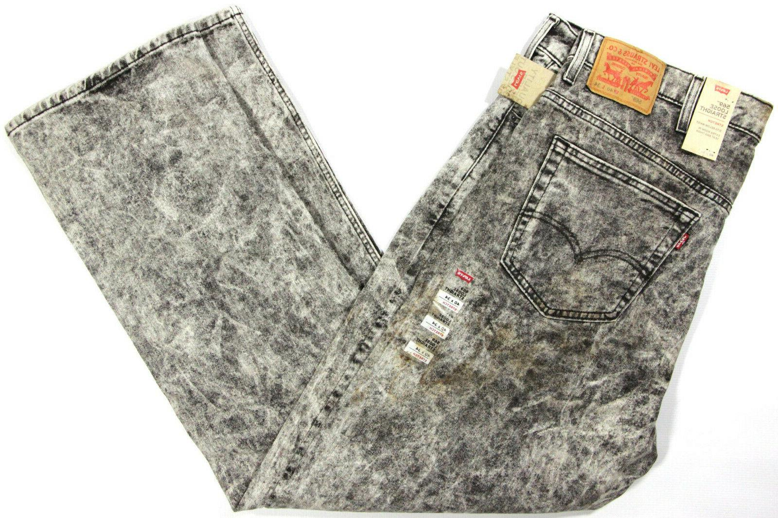 levi s 569 loose straight stretch jeans
