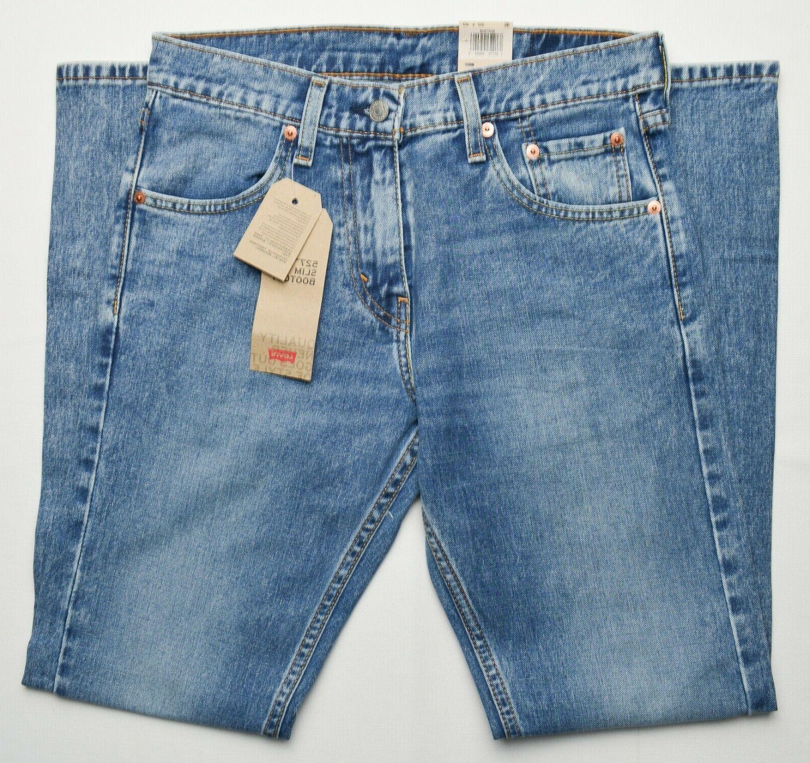 Levi's #8876 Men's 527 Slim Bootcut Jeans