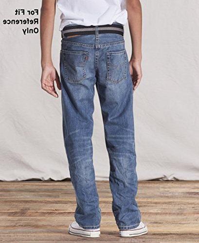 Levi's Boys' 505 Fit Jeans,