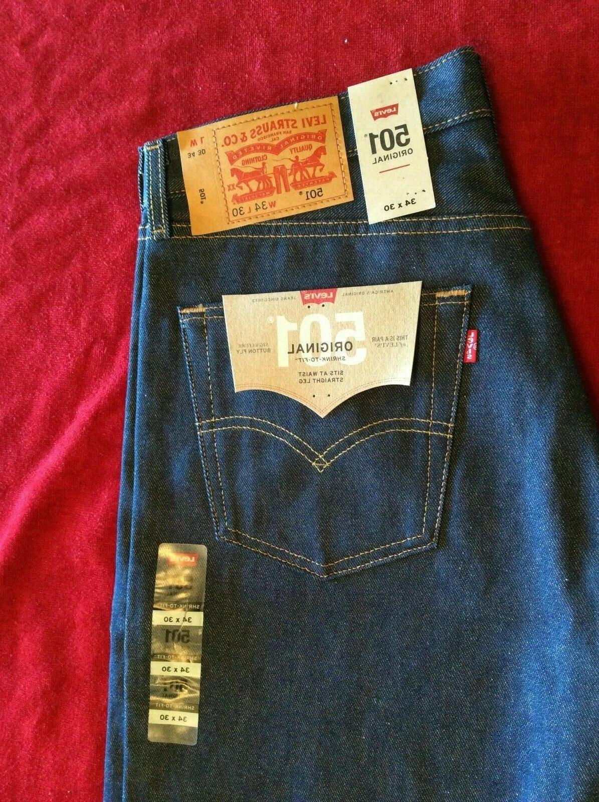 levi s jeans 501 0000 shrink to