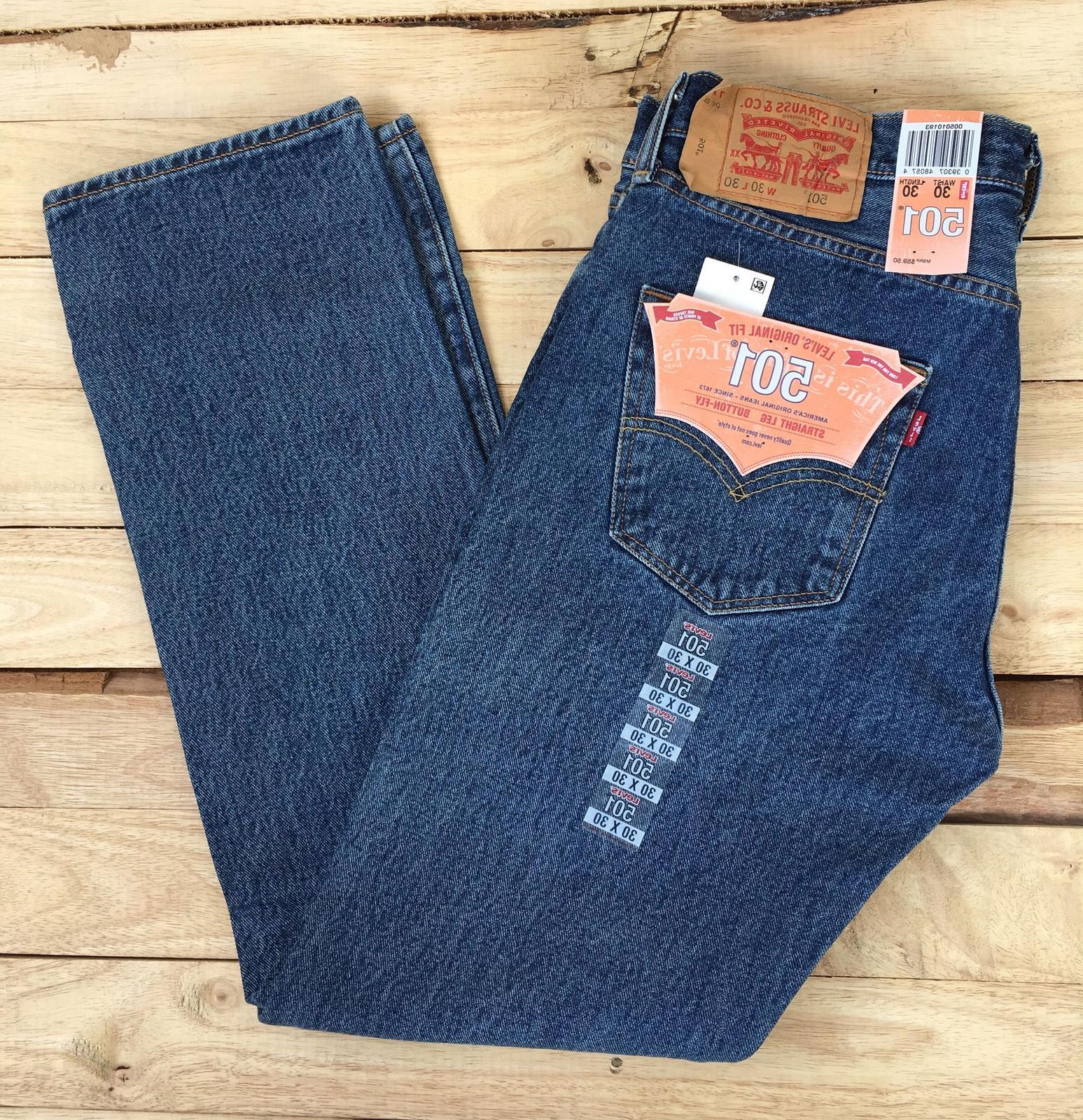 Levi's Men Jeans -Medium Stonewash
