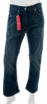 LEVI'S Men's 513 Slim Straight Fit Jeans Cash Wash