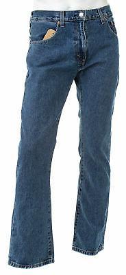LEVI'S Men's 517 Bootcut Medium-Stonewash Jeans