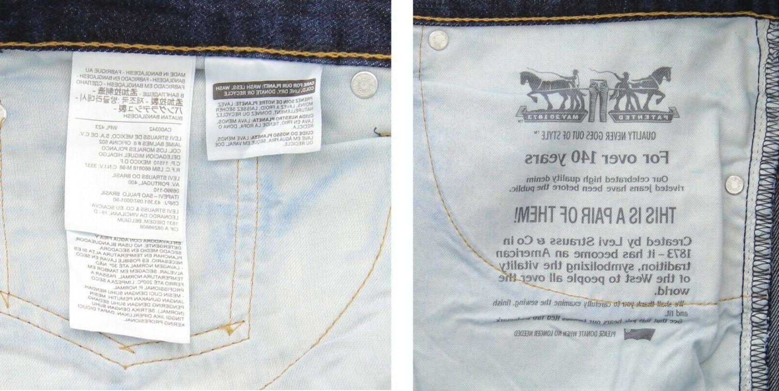 Levi's 550 Jeans Fit