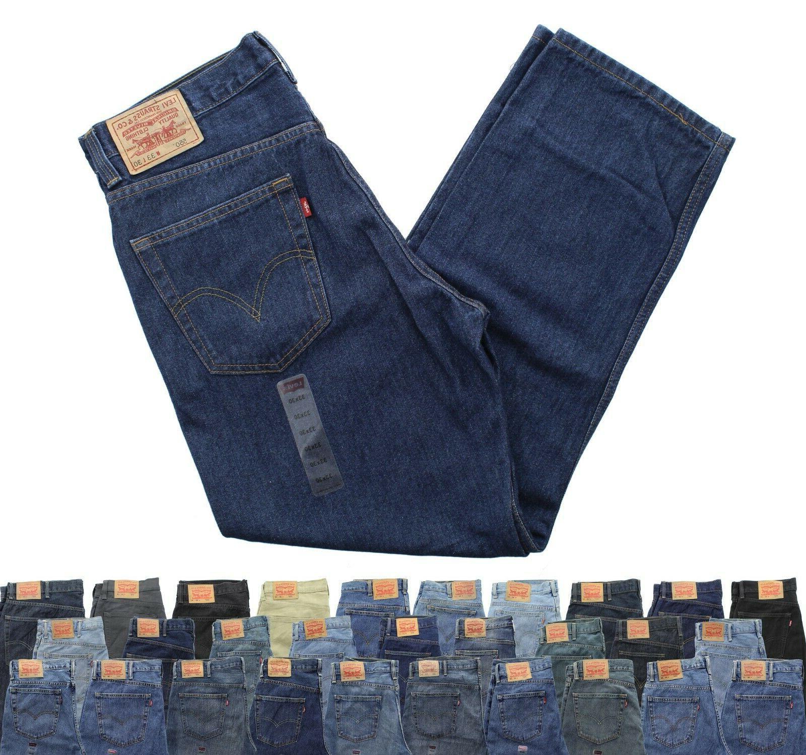 levi s men s 550 blue jeans