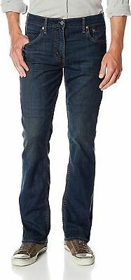 Levi's Mens Blue Size 31X30 527 Slim Fit Bootcut Leg Denim J