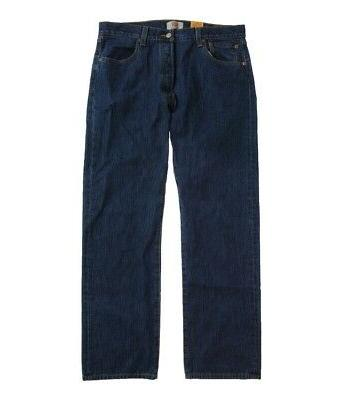 Levi's Mens Classic 501 Denim Straight Leg Jeans