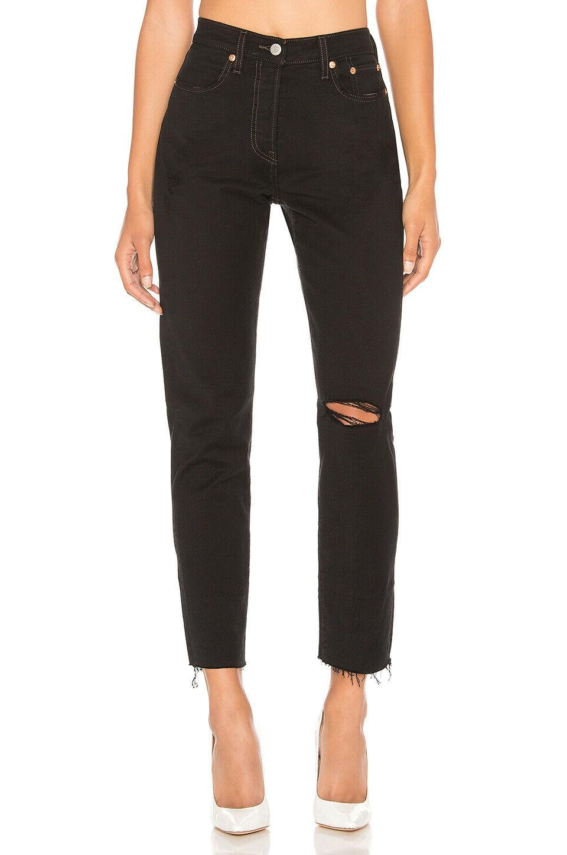Levi's Wedgie Icon Jeans - Black Desert