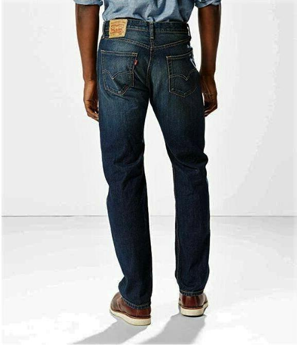 LEVIS 505 Jeans Stretch Straight Springstein Dark Pick Size