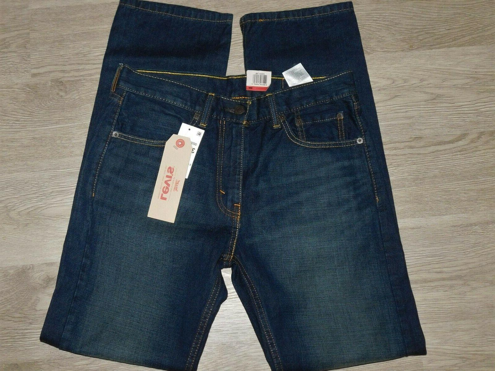LEVIS Jeans Stretch Springstein Dark Size